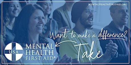 Central Texas Community - Adult Virtual  MHFA Training 8/5 tickets