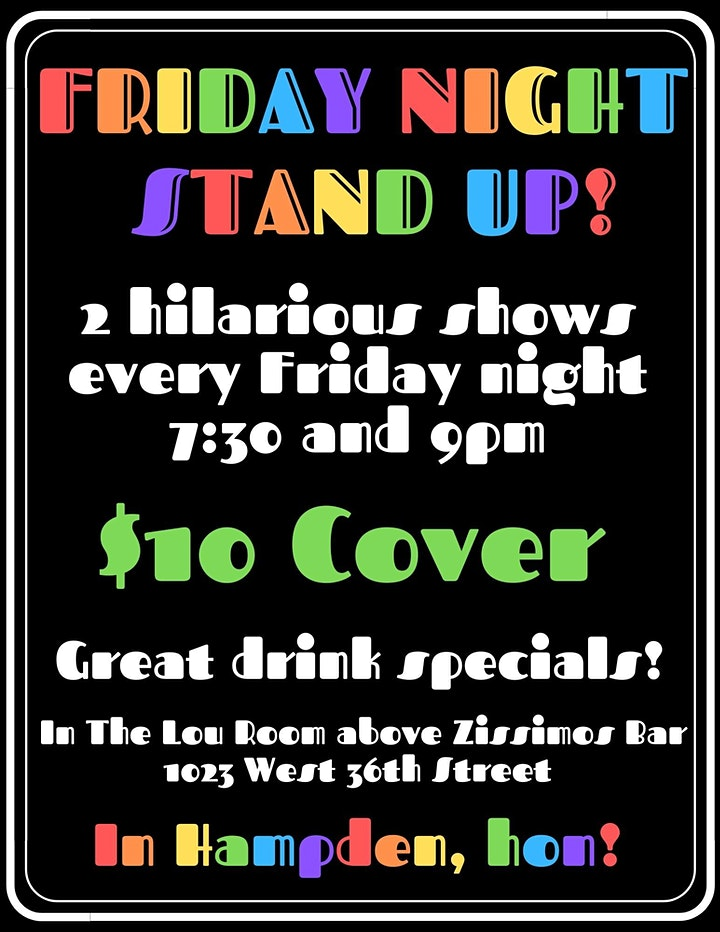 Friday Night Stand Up image