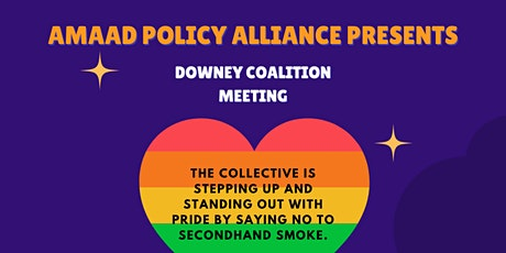 Downey Coalition Meeting: Tobacco Free Pride tickets