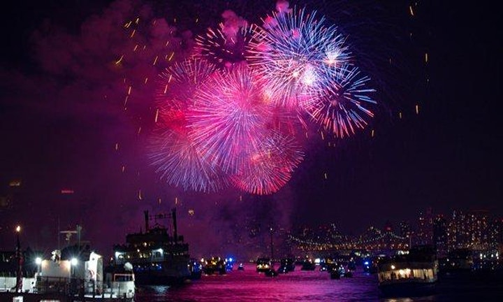 4th of July Fireworks Yacht Cruise NYC Boat Party image