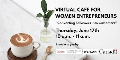 Virtual Cafe for Women Entrepreneurs tickets
