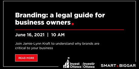 Branding: a legal guide for business owners tickets