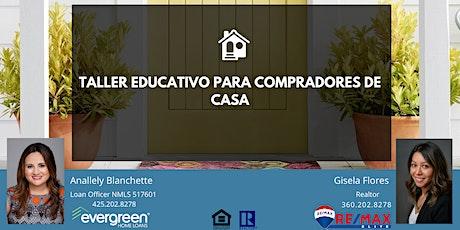 Taller Educativo Para Compradores De Casa biglietti