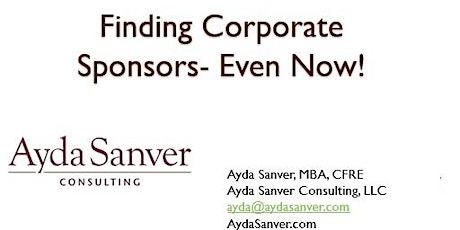 Corporate Sponsorship Basics for Nonprofits tickets