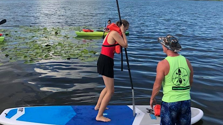 True Beginner Paddleboard Lesson on the Winter Park Chain image