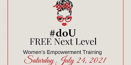 #doU Women's Empowerment Training tickets