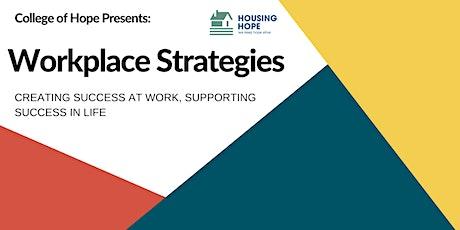 Workplace Strategies tickets
