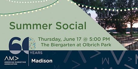 AMA Madison 60th Anniversary Summer Social (Outdoors) tickets
