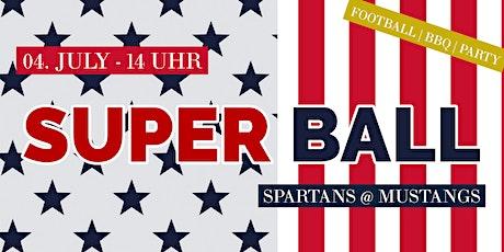 Super Ball - AFC Mustangs vs. Weinviertel Spartans Tickets