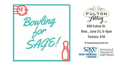 Bowling for SAGE! tickets