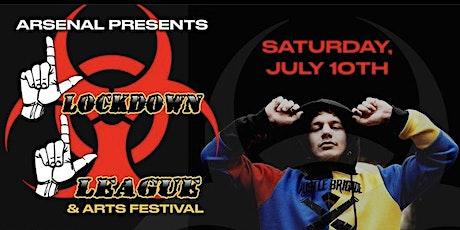 LockDown League tickets
