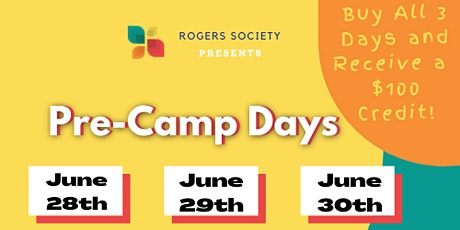 Pre-Camp Days tickets