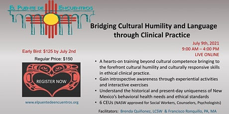 Bridging Cultural Humility and Language in Clinical Practice-July 9th tickets