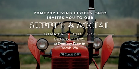 Supper & Social: Fundraiser Dinner and Auction tickets
