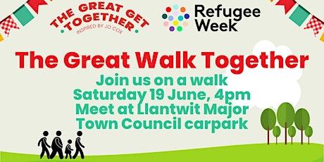 Great Walk Together Llantwit Major billets