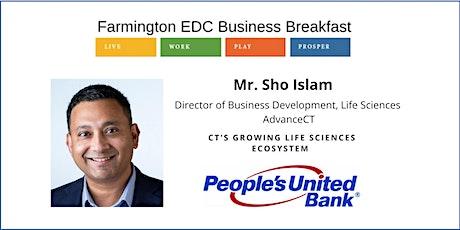 The Farmington Economic Development Commission's Spring Business Breakfast tickets