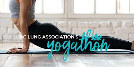BC Lung Association Yogathon tickets