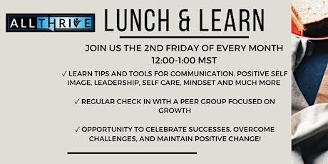 Lunch & Learn - Walk the Talk Tickets
