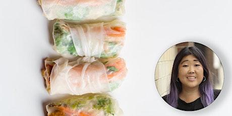 Virtual Class - Eat More Plants: BBQ Tofu Spring Rolls tickets