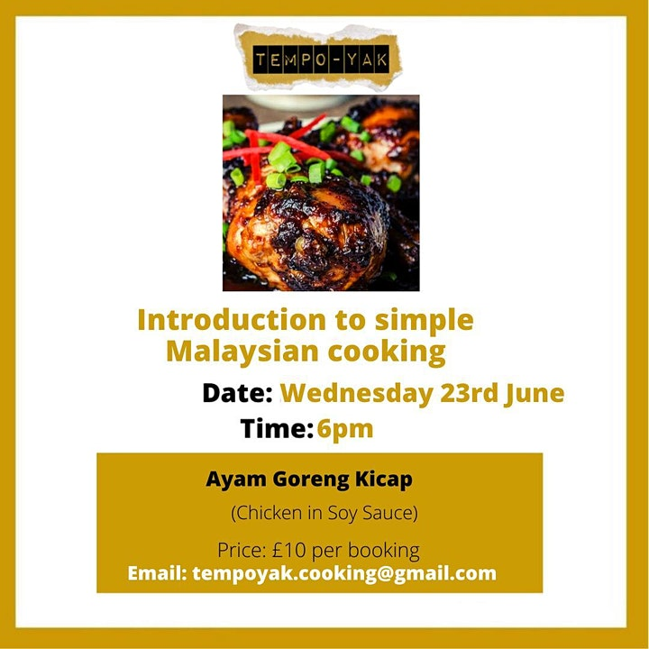 Zoom Cooking - Simple Malaysian Cooking image