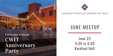 Charlottesville Women in Tech Anniversary Party tickets