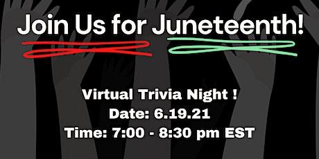 Juneteenth Trivia Night tickets