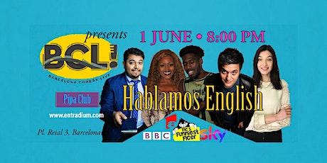 Hablamos English · presented by Barcelona Comedy Live entradas
