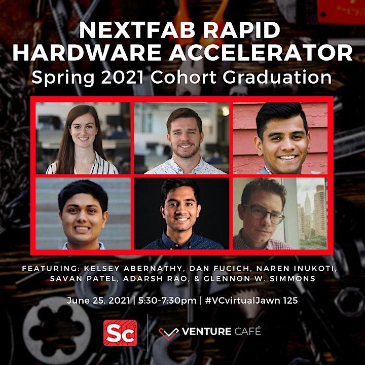Venture Café PHL: NextFab RAPID Hardware Accelerator Spring 2021 Graduation image