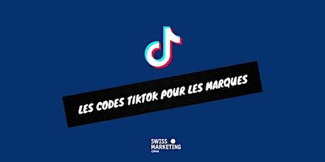 WEBINAIRE: Les Codes TikTok pour les marques billets