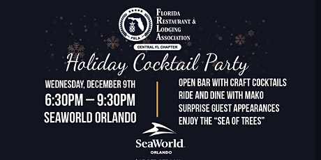 3rd Annual Holiday Cocktail Reception and Awards Presentations tickets