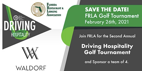Copy of Driving Hospitality Golf Tournament tickets
