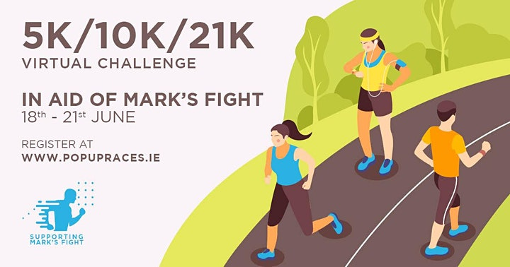Charity Run, Walk or Crawl in Aid of Mark's Fight image