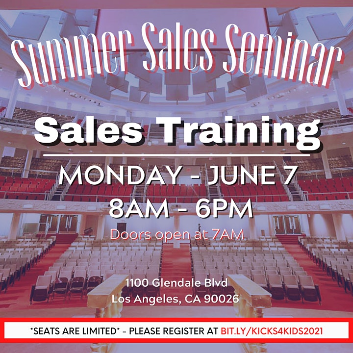 Summer Sales Seminar image