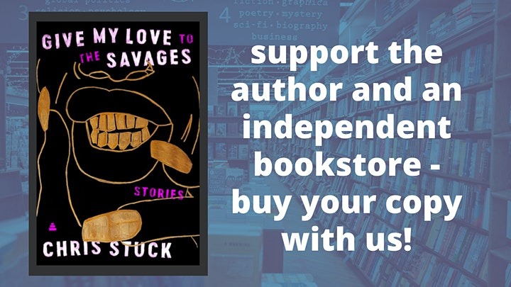 Chris Stuck with Chaya Bhuvaneswar: Give My Love to the Savages image