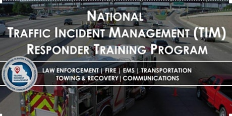 Traffic Incident Management - Joplin, MO - Responder Training tickets