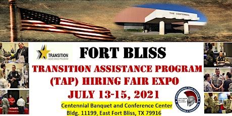 Fort Bliss  Transition Assistance Program (TAP) Hiring Fair Expo boletos