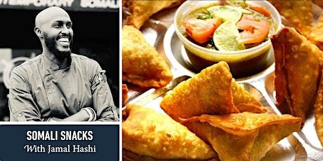 Somali Snacks with Jamal Hashi tickets