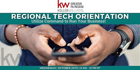 Regional Tech Orientation - October tickets
