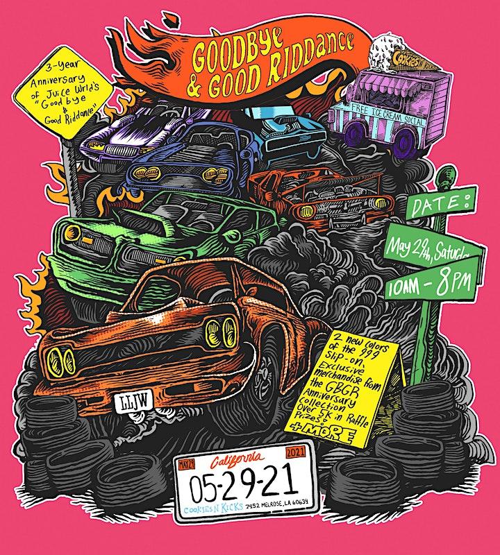 Juice WRLD 999 Club | GBGR Pop Up Shop image