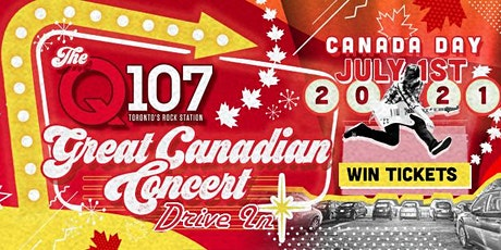 Q107 Great Canadian Concert Drive-In tickets