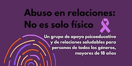 Abuso en relaciones: No es solo físico - Facilitado en español - YWCA ATX entradas