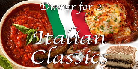 Dinner for Two; Italian  - Cook-Along w/ Chef Kit #LPaGFoodieFriday tickets