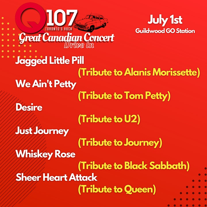 Q107 Great Canadian Concert Drive-In image