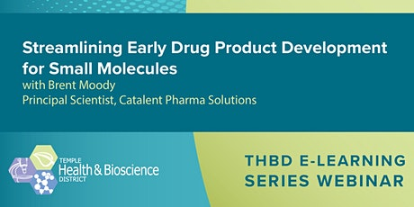Streamlining Early Drug Product Development for Small Molecules tickets