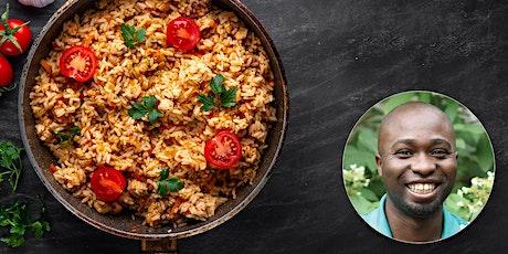 Virtual Class - Ugandan Vegan Cooking: Rice tickets