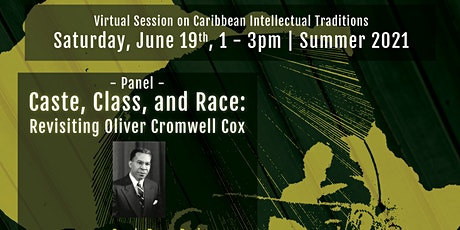 Virtual Session on Caribbean Intellectual Traditions - 1 tickets