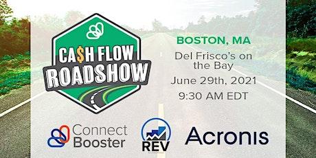 Cashflow Roadshow - Boston tickets