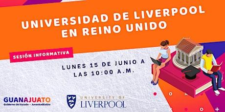 Sesión informativa JuventudEsGto -Liverpool University tickets