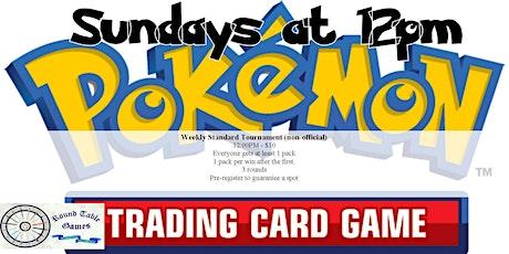 Sunday Pokémon Standard 2021 tickets