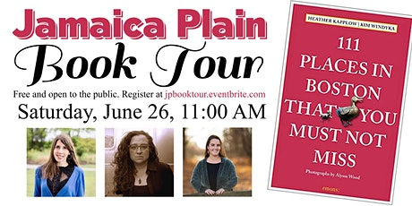 Jamaica Plain Book Tour That You Must Not Miss tickets